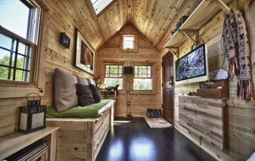 the tiny house rv creation was masterminded by malissa a 3d artist and christopher a graphic designer and photographer who became infatuated with the