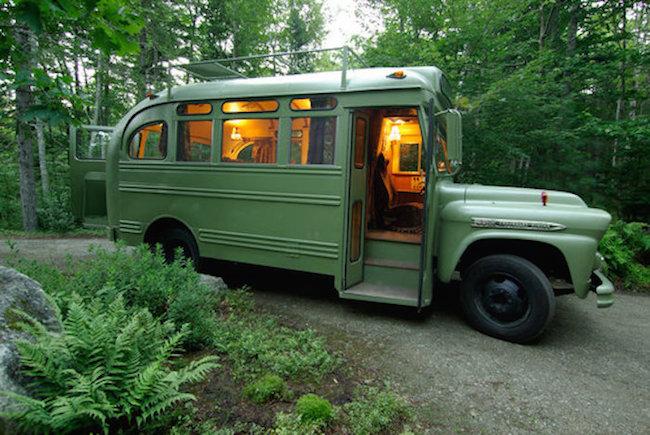 1959 Chevrolet Viking Short Bus Converted Into Camper