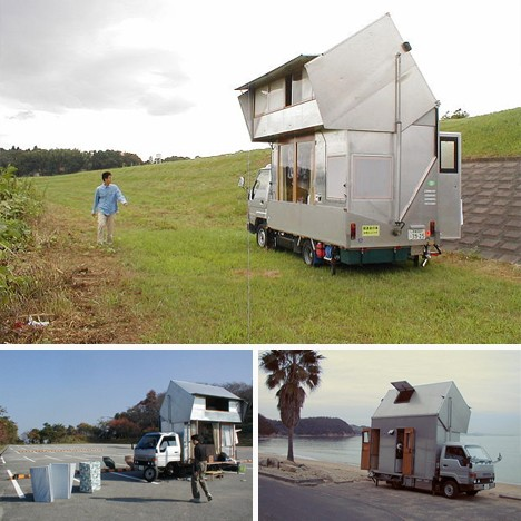 Custom-Toyota-RV-20 Homemade Camper S Designs on homemade tent designs, homemade motorhomes plans and designs, homemade campers ideas, homemade travel trailer, homemade folding camp trailer, homemade trailer designs, homemade off-road trailers, homemade boat designs, homemade camping trailers, homemade enclosed trailer, homemade tent trailer, homemade truck storage box,