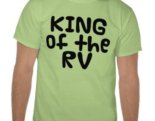 Funny RV: King and Queen of the RV Shirt