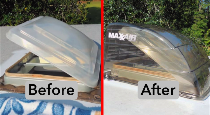 How To Install The Camco Aero-Flo And Maxxair RV Vent Covers