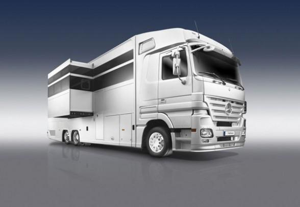 Luxury rv of the future designed by architectural firm a for Mobile home designer
