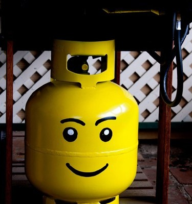 Propane Tank RV Mod Puts a Smile on its Face – Literally