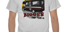 Funny RV: My RV is Bigger than Your RV Shirt