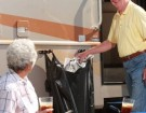 Portable RV Trash Can: The BagRack