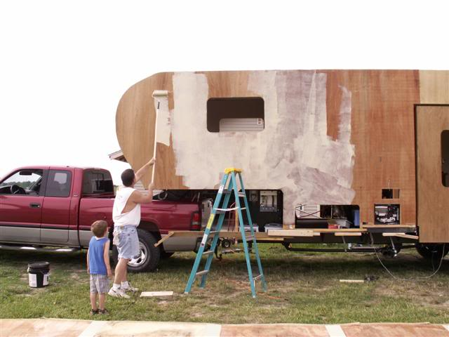 The ultimate diy rv project custom fifth wheel for Slide out motor manufacturers