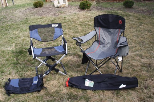PICO chair set up in the field