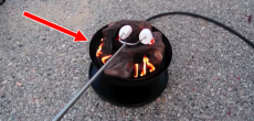 3 Portable Propane Outdoor Campfires. Ideal For Burn Ban Locations.