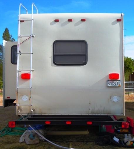 Rv Cargo Deck Mod Idea Custom Built Free Up Rv Space