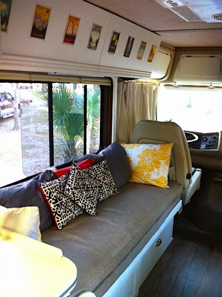 RV Remodel 1990 Barth Regal Exterior And Interior