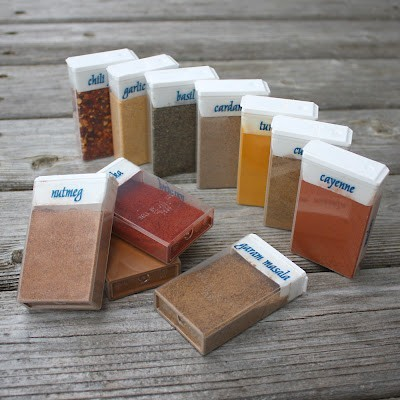 RV Storage Ideas: Tic Tac RV Spice Rack
