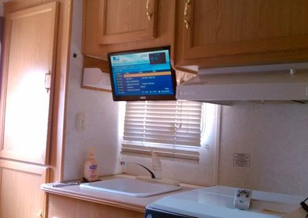 Rv Tv Mount Installation Ideas And Resource Examples And