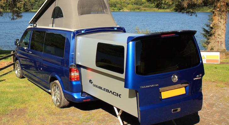 This Brazen Volkswagen Doubleback Campervan Is Built From Aircraft-Grade Components
