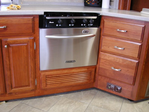 Electric Rv Stove And Oven ~ Rv mods stove oven to dishwasher conversion re purpose