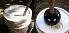 DIY RV: Home Made Clothes Washer