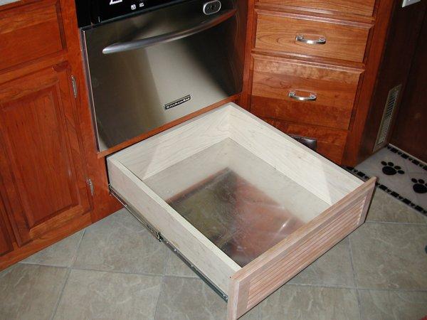 Rv Mods Stove Oven To Dishwasher Conversion Re Purpose