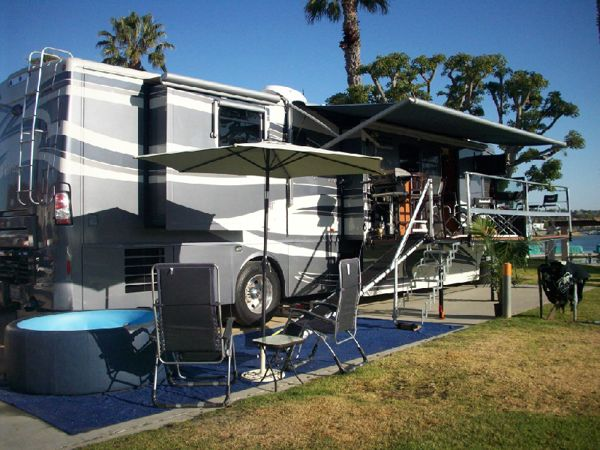 Rv Deck Rv Patio 12 Motorhome Pinterest Decks And Patio