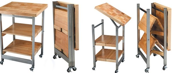 Folding RV Kitchen Island from Oasis Concepts