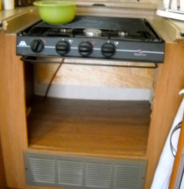 RV Mods: Stove-Oven to Dishwasher Conversion ? Cooktop Combo ...