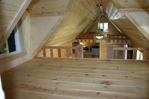 Tiny House Trailer Rv House Made Of Redwood Custom Fold