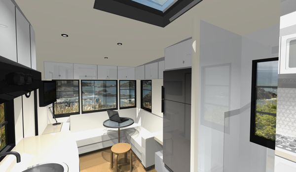 Custom Rv Designs A Residential Architect Tackles A New