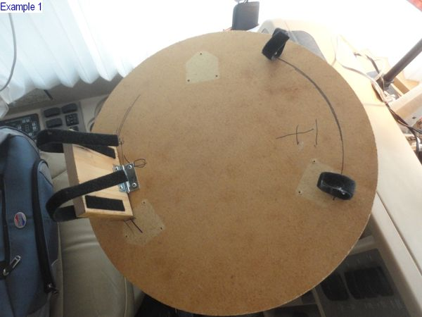 Camper Steering Wheel : Rv steering wheel table mod don t you need another place