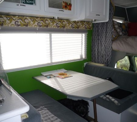 Interior RV Renovation on a 1999 Jayco Designer Class C