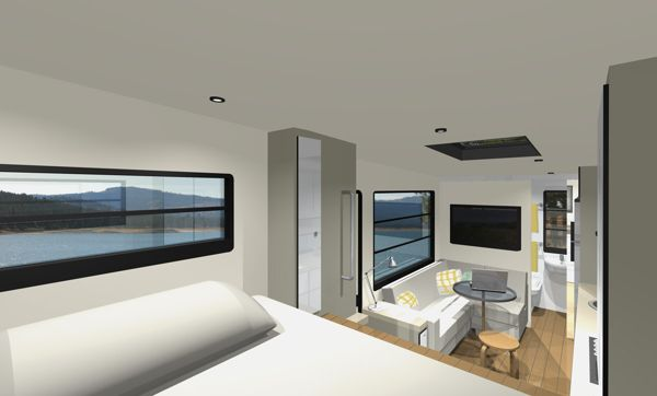 Custom rv designs a residential architect tackles a new for Rv interior designs