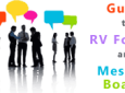 Guide to RV Forums and Message Boards