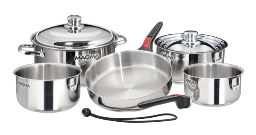 Magma Nestable Stainless Steel RV Cookware