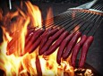 Prepare Campfire Hotdogs and Meals for a Large Group with a….Rake