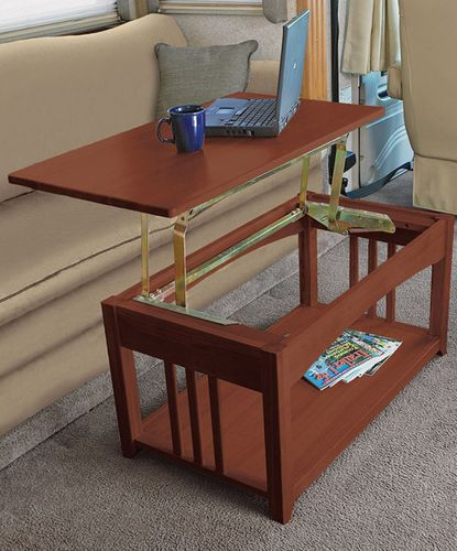 Innovative Dinette Table For Travel Trailer