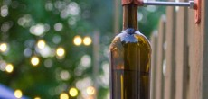 Have an Empty Wine Bottle? Turn it into a Camping Tiki Torch