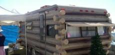 Funny RV: A Log Camper RV to Get You Closer to Nature
