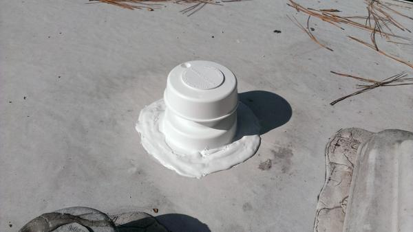 Replacing A Weathered Rv Sewer Vent Cap
