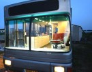 Beat Up City Transit Vehicle Converted Into a Swanky Custom Bus RV