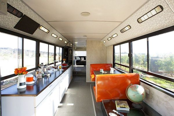 Beat Up City Transit Vehicle Converted Into A Swanky