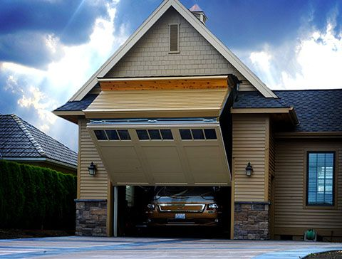 One of a kind rv garage 8 foot tall door that your rv can for How tall is an rv garage door