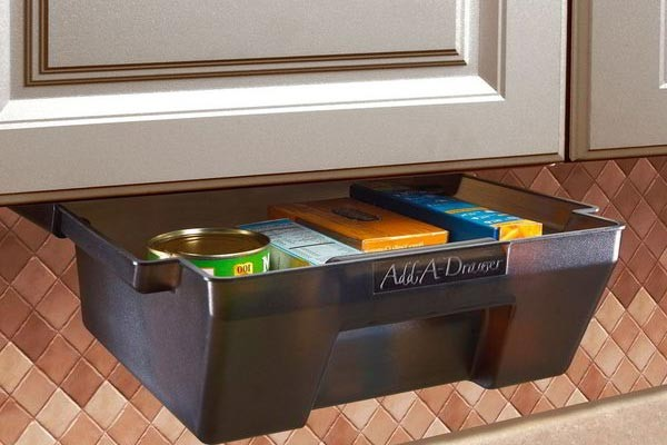 Permanent Extra Space in an Instant: Add-A-Drawer RV Accessory