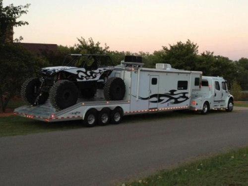 Extreme Toy Hauler: The size of the Toy vs. The Size of the RV