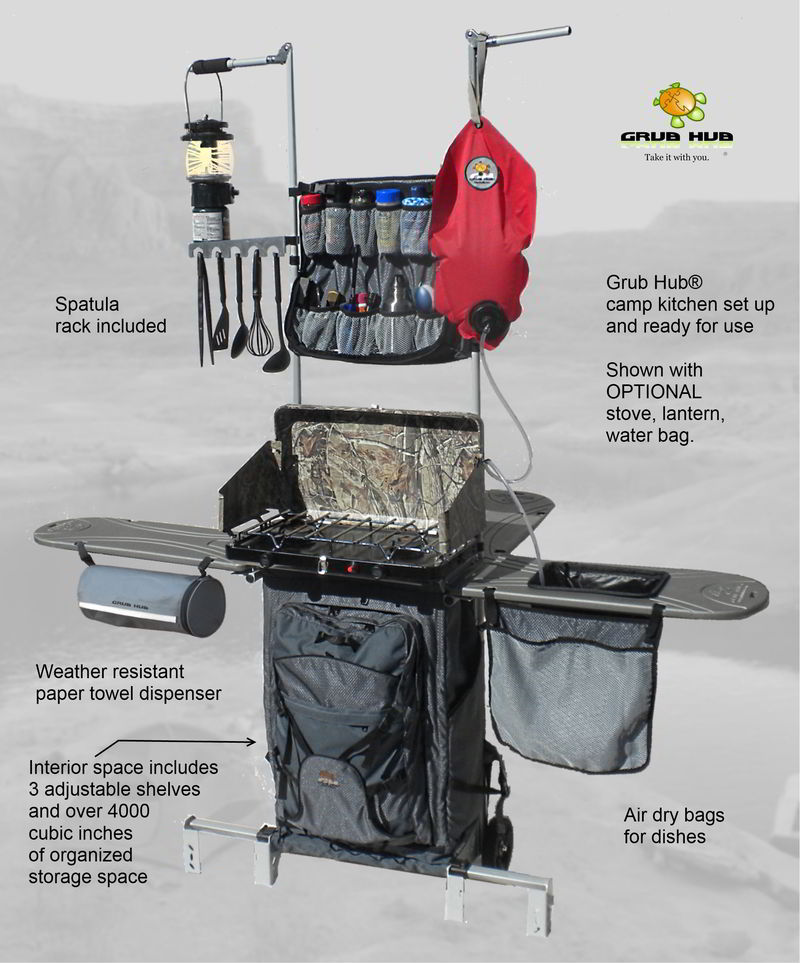 Do It Yourself Outdoor Kitchen: Compact Portable Outdoor Kitchen To Change RV Cooking For