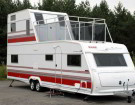 Two Story RV: A Travel Trailer with 2 Floors and Walk Out Balcony