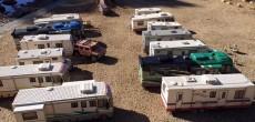A Serene Beachside RV Park Or A LEGO RV Collection?
