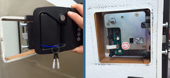 Brilliant Lippert Components Inc LCI Has Introduced RV Lock, An Integrated Locking System For RV Entry Doors According To A Press Release, RV Lock Is A Keyless Entry System Designed To Be Highly Secure, With Over One Million Possible Door
