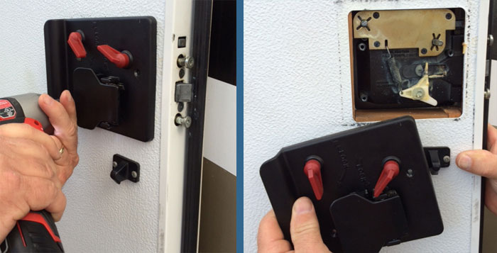 Choosing And Installing A Rv Keyless Entry System Lock