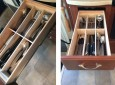 DIY RV Kitchen Drawer Organizers for $10 – Just a Little Wood and Glue