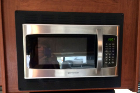how to swap out a rv microwave with a convection oven replacement. Black Bedroom Furniture Sets. Home Design Ideas