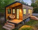 Stunning Tiny House Custom Built on a Gooseneck Flatbed Trailer
