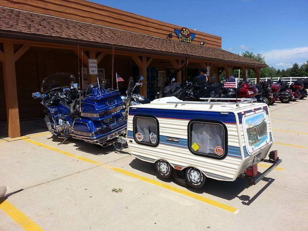 Funny Rv Taking Ultra Lite Travel Trailers To The Next Level