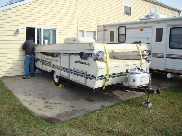 diy camper trailer built from an old pop up on a budget of home made camper trailers